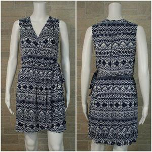 Stitch Fix Papermoon Weston Faux Wrap Ikat Dress